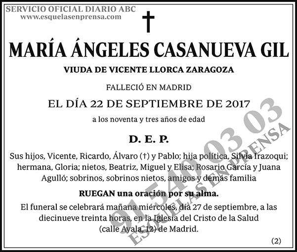 María Ángeles Casanueva Gil